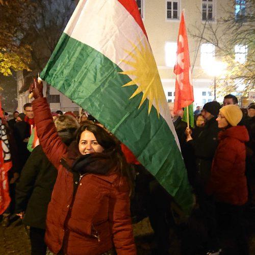 Vaniessa Rashid, Kundgebung für ein buntes Ramersdorf, 25. November 2019