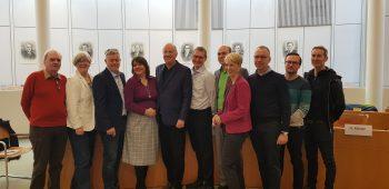 Pressekonferenz zum Hachinger Tal im Unterhachinger Rathaus am 15. Januar 2020