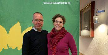 Christiam Smolka und Hannah Gerstenkorn, neue Stadträte aus Ramersdorf-Perlach