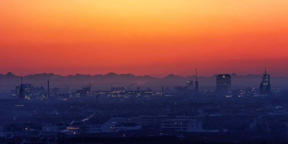 München im Morgenrot