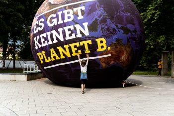 Erdkugel Kein Planet B